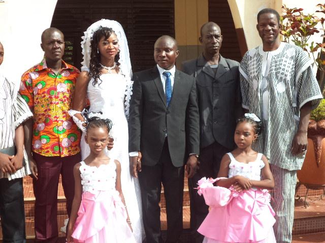 mariage de nol abdoulaye sawadogo et nathalie sanou le 07 novembre 2015 - Mariage Evangeliste