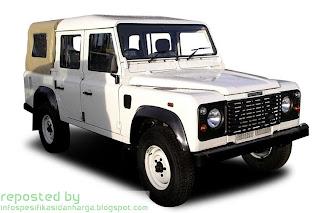 Harga Land Rover Defender Mobil Terbaru 2012