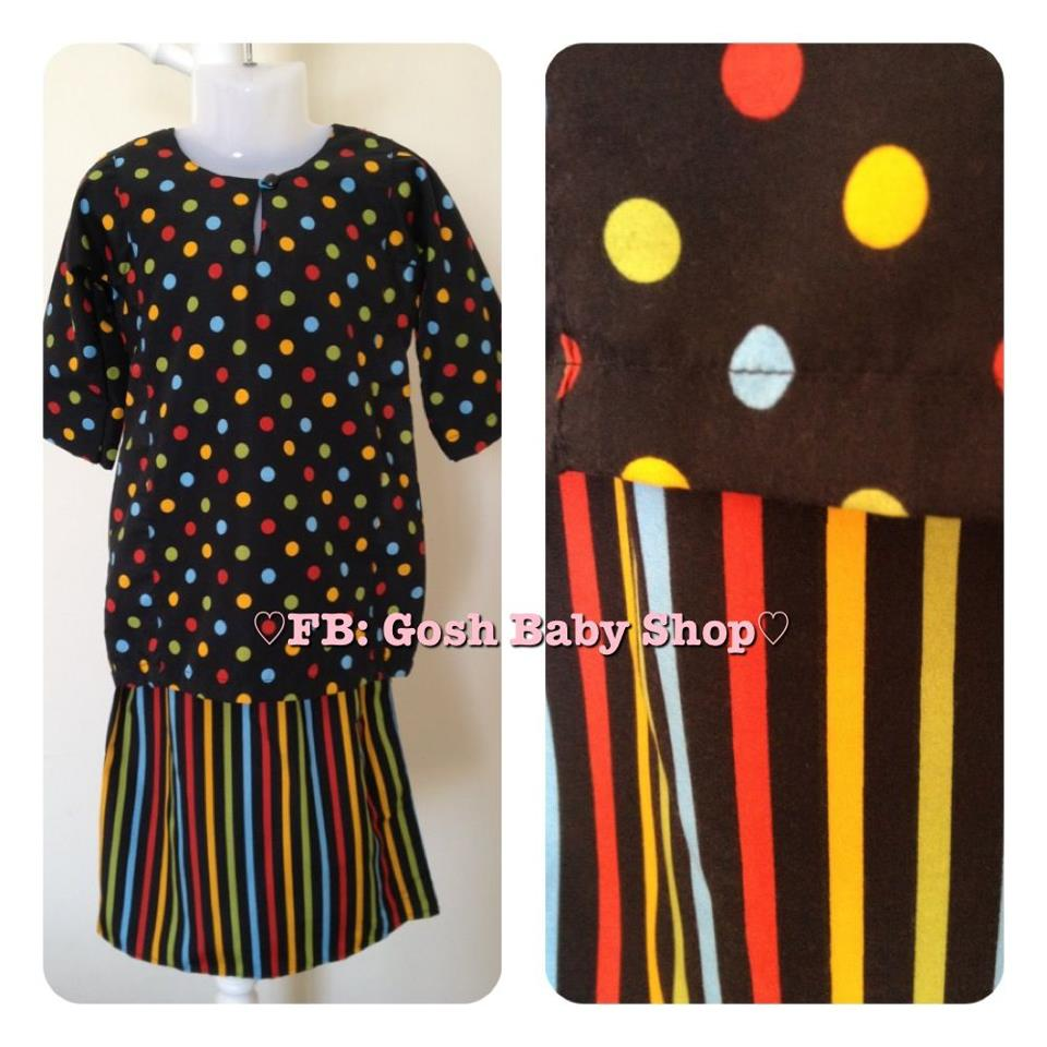 Baju Kurung Peplum Bayi Dan Kanak Kanak Raya 2013 Stock Borong Dan