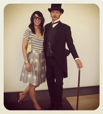 EANJEAN PAUL BRUNIER 19th century parisian photographer and blogger  with Fashion Junkie Jessica Moaozami