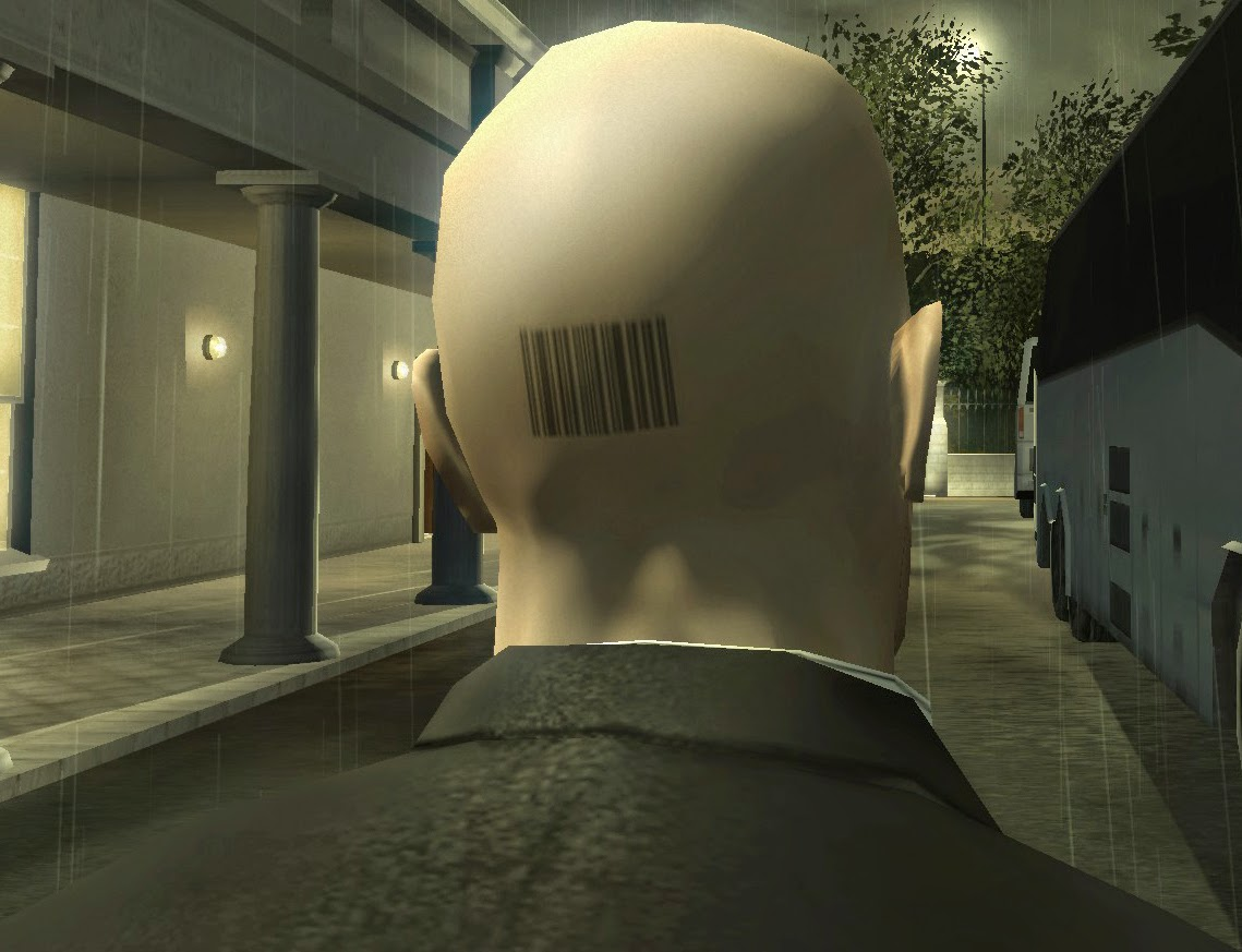 Agent 47 barcode
