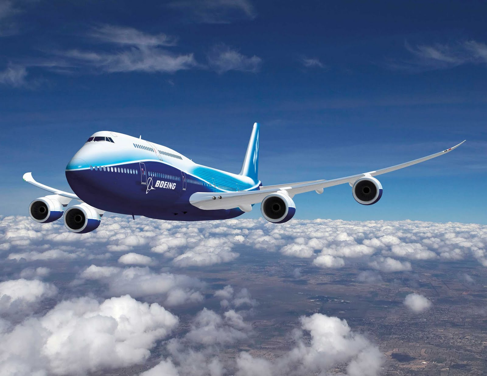 Travel Conversations: Boeing 747-8 Intercontinental Passes High ...
