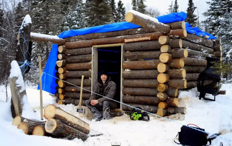 How They Built A Log Cabin Under Tale Of