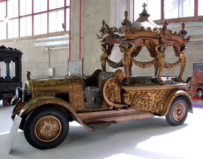 Just A Car Guy Hearse Cars Of The 1920 S From Spain A