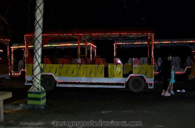 Zooper Train tram at Zoobic Safari