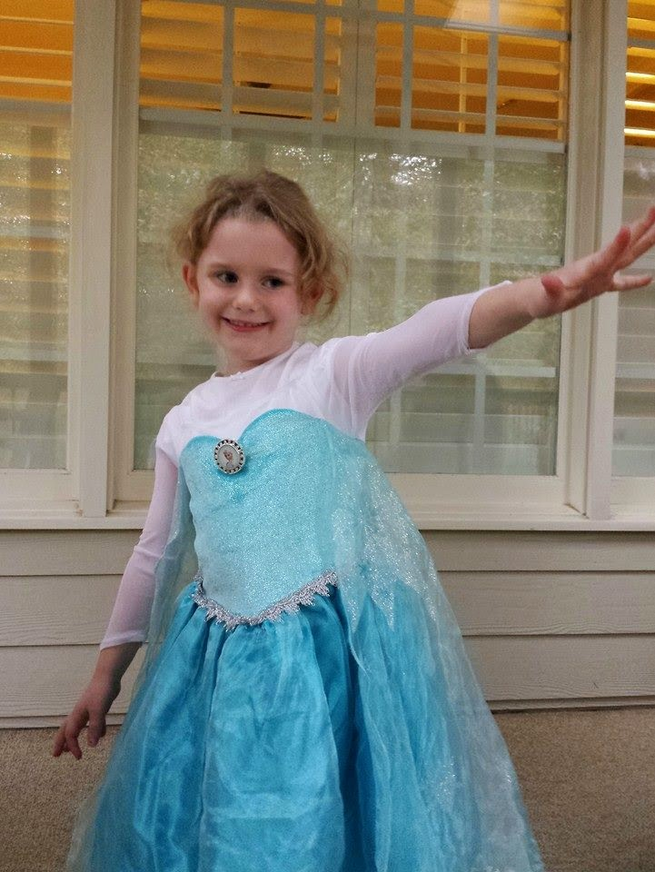 Frozen-Themed Birthday Party