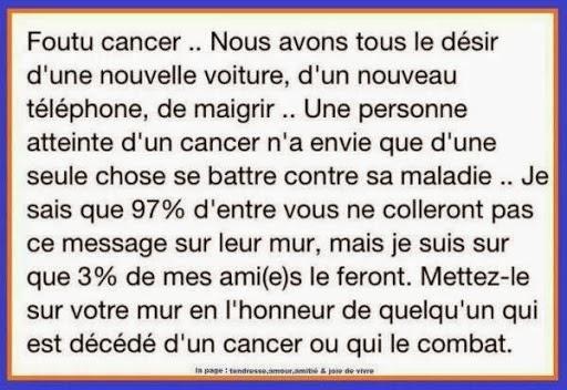 Le célèbre Citation Maladie Cancer #ER76   Aieasyspain &EU_27