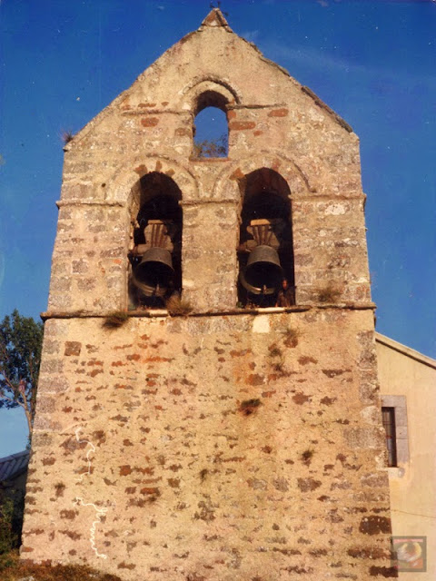 Iglesia de Santibáñez de Resoba, Montaña Palentina, Palencia