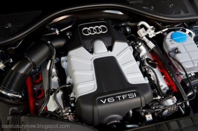 2014 Audi A6 TDI Quattro Engine
