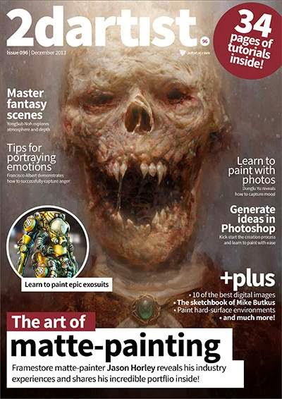 2DArtist Magazine Issue 096 December 2013