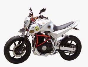 Foto Modifikasi Motor Suzuki Thunder Warna Putih