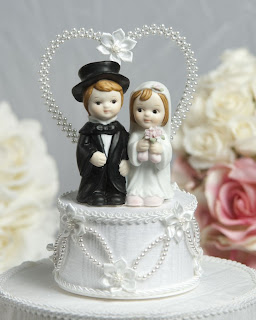 Cute Children Wedding Cake Toppers