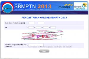 Situs Resmi Pendaftaran SBMPTN