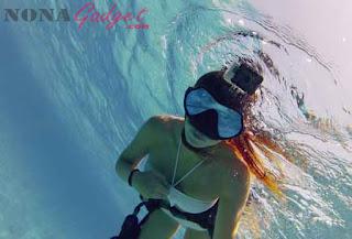 Hasil kamera GoPro Hero 3 dalam air