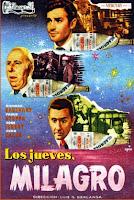 Los jueves, milagro (1957).