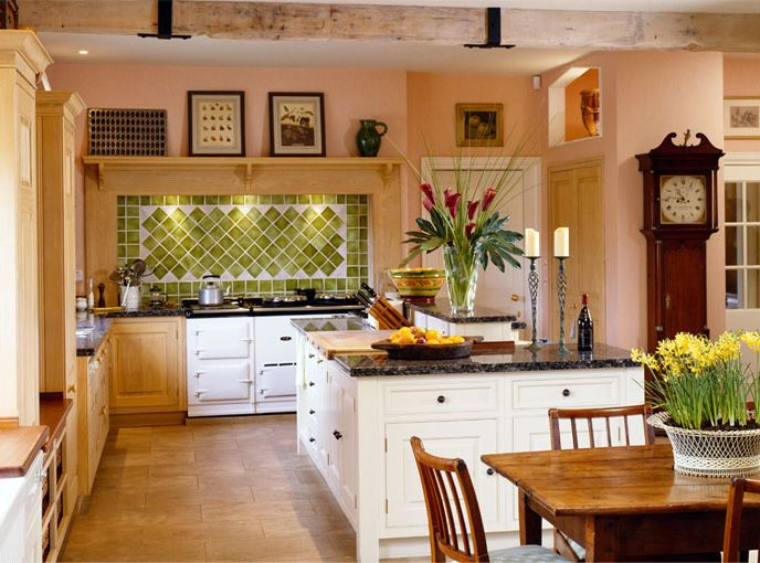 Home styles country home style for Country kitchen home plans