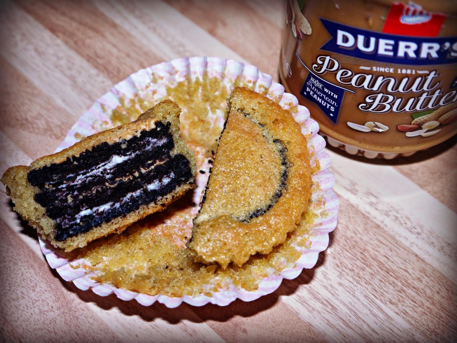 cupcake, Oreo, peanut butter