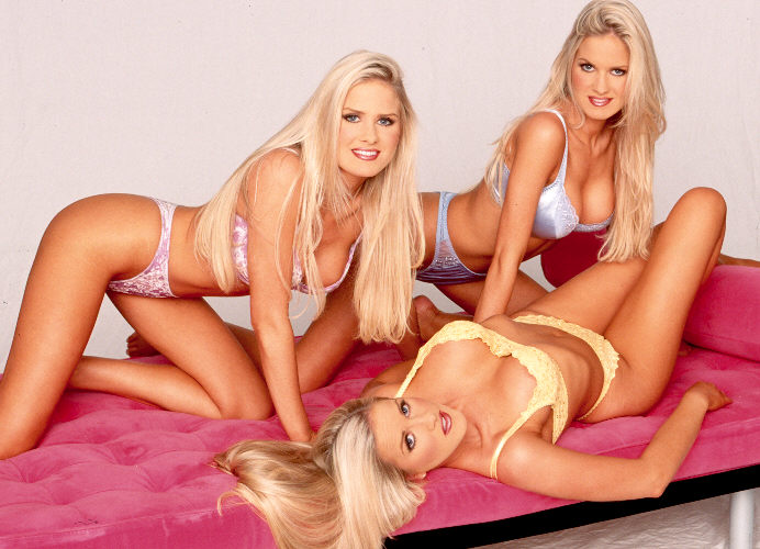 Normal identical triplets are not porn stars trust me i ve tried