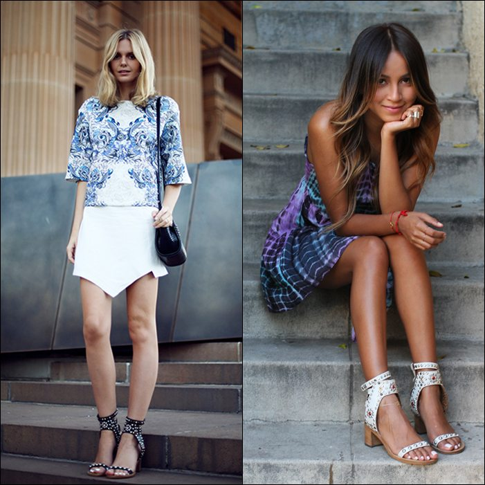 fashion bloggers isabel marant sandals