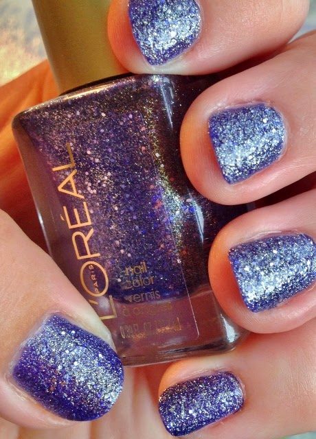 L'Oreal Color Riche nail polish in Too Dimensional #136 swatch