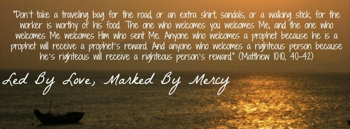 Led by love, marked by mercy.