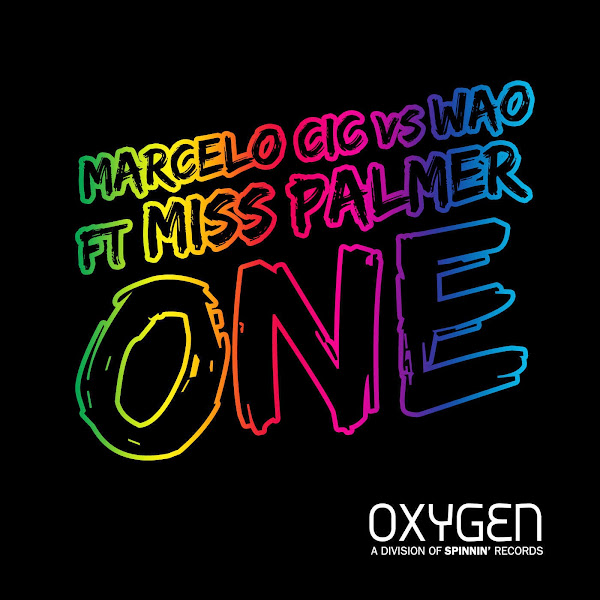 Marcelo CIC & WAO - One (feat. Miss Palmer) - Single  Cover