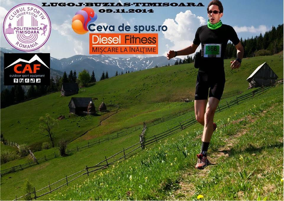 Start Mobility 4 Disability. Lugoj - Buziaş - Timişoara. Fundraising Run. 9 noiembrie 2014