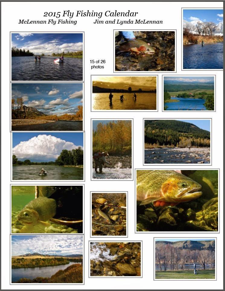 Bow river shuttles mclennan fly fishing 2015 calendar for Fly fishing journal