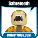Sabretooth Marvel Mighty Muggs Wave 6 Thumbnail Image 4 - Mightymugg.com