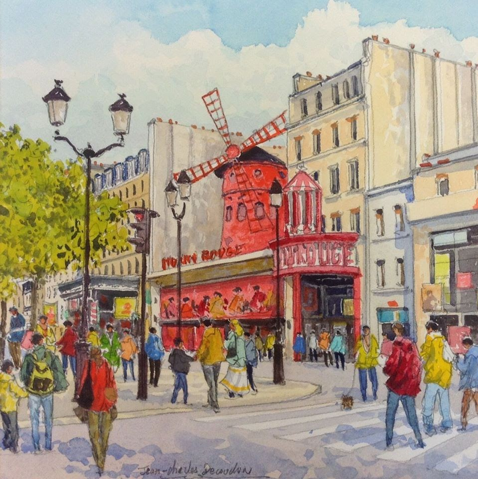 Jean Charles Decoudun Le Moulin Rouge