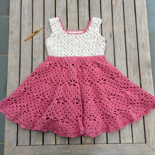 Little Girl Vintage Dress