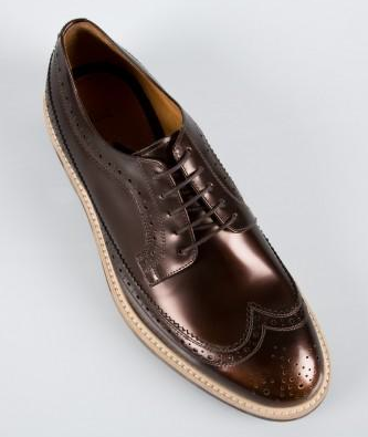 Brogues, Dipped and Distinguished: Paul Smith Bronze High ...