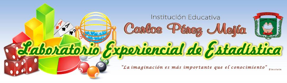 LABORATORIO EXPERIENCIAL DE ESTADISTICA IECPM