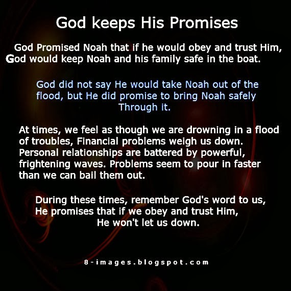 How does God Keeps His Promises? - Quotes