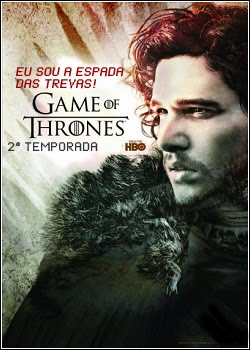 Download Game of Thrones 2ª Temporada HDTV 720p AVI Dual Auidio MP4 RMVB Dublado
