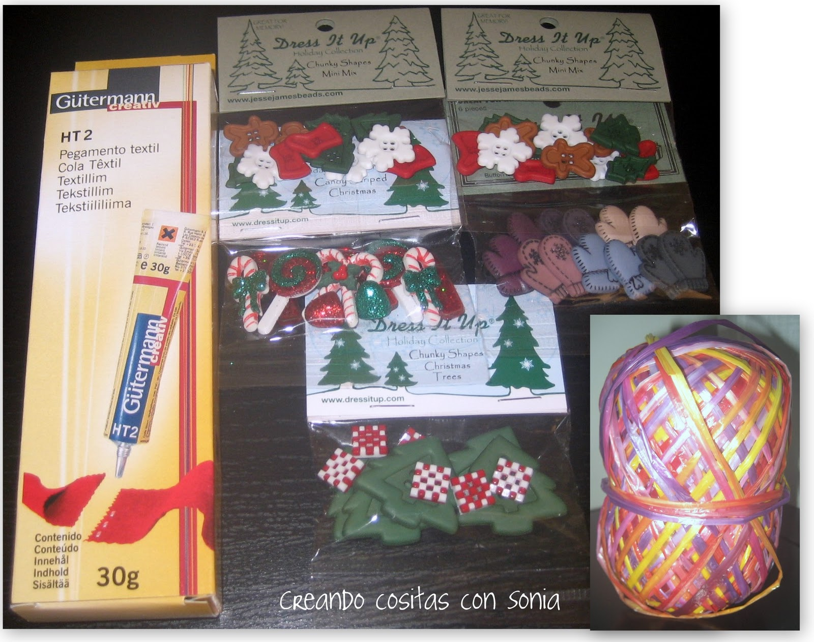 Creando cositas con sonia adornos de navidad bolas de - Bolas de navidad de fieltro ...