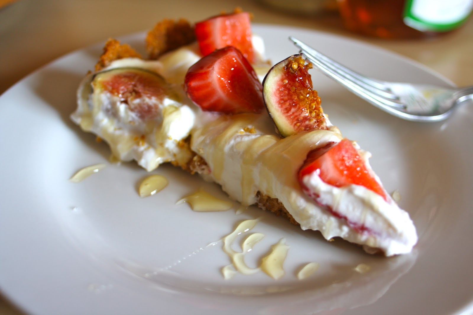 Goodness Gracious: Fig and Strawberry Ricotta Tart