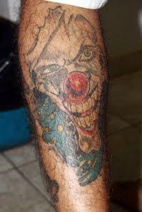 desenhos de tattoos de palhaços