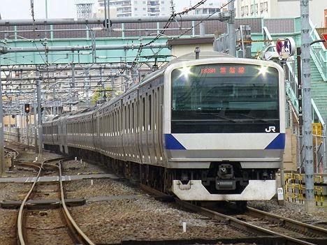 常磐線 土浦行き E531系