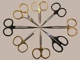 Scissor tying