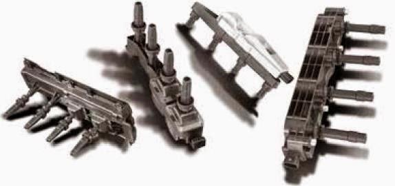 Bobinas de encendido de autos de alimentación directa a las bujías en forma modular