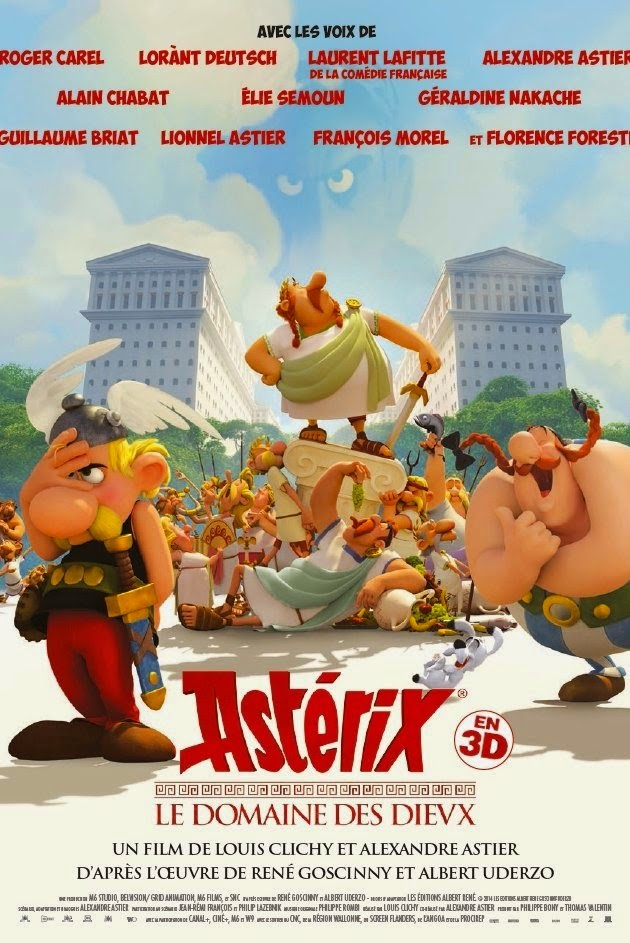 Asterix: The Mansions Of The Gods / Asterix: Le Domaine Des Dieux (2014)  Μεταγλωτισμενο ταινιες online seires xrysoi greek subs