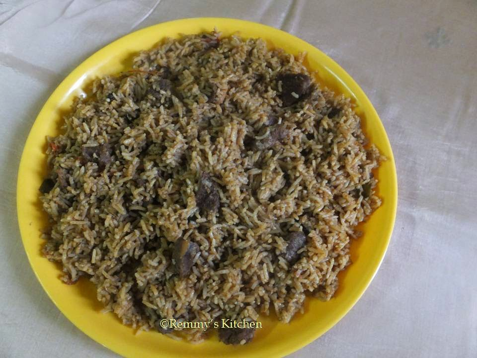 Erachi choru / Meat rice