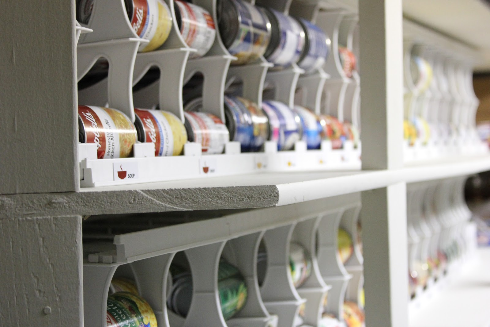 Photos Of Storage Racks For Canned Goods