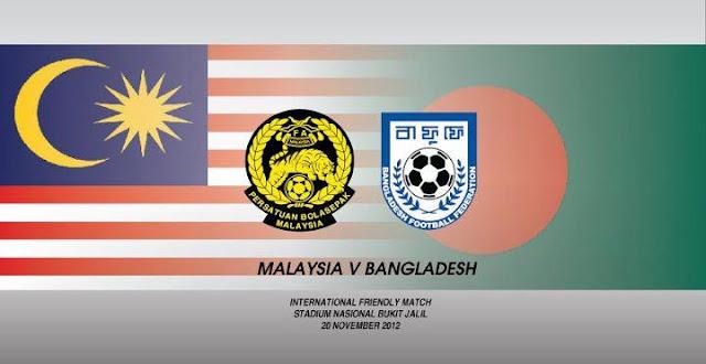 Keputusan Perlawanan Malaysia vs Bangladesh 20 November 2012