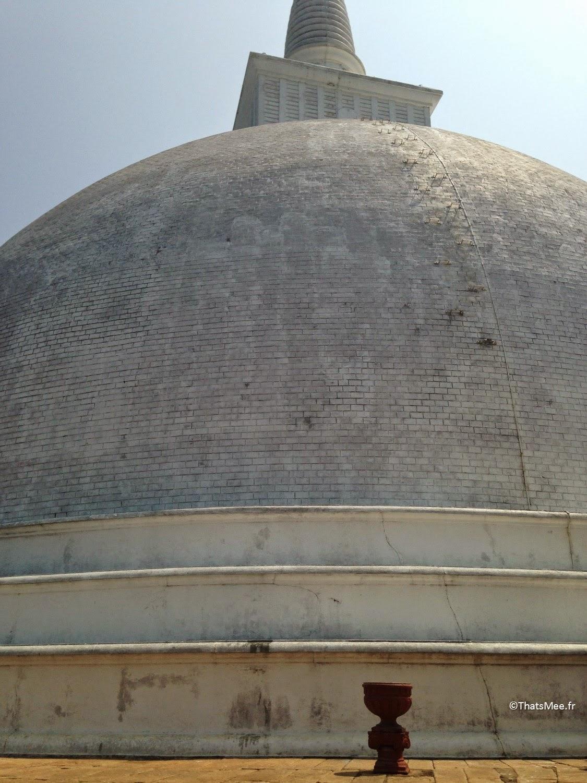Stupa du Temple Mihintale, Sri-Lanka