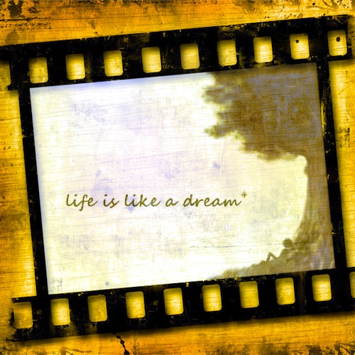 life is a dream essay The american dream: making a better life essay examples - the american dream is a personal thing every person's belief or thought on what the american dream is.