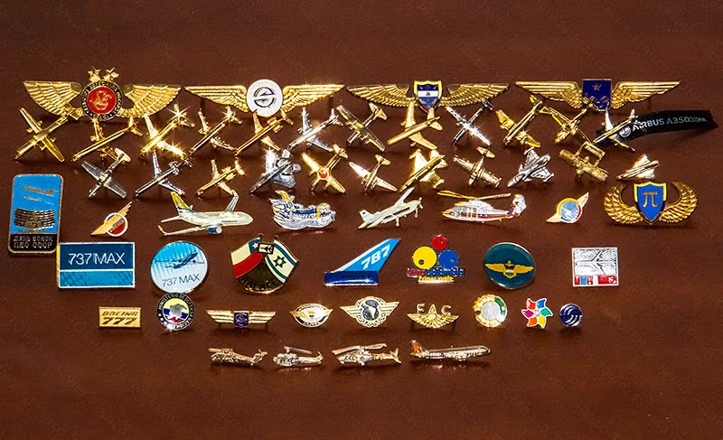 Broches o 'pin' de aviación