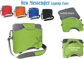 "CENTRUM LINK - ""NEO MESSENGER LAPTOP CASE"""
