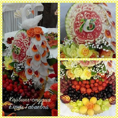 фрукты на юбилей сахалин